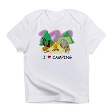 I Love Camping Infant T-Shirt