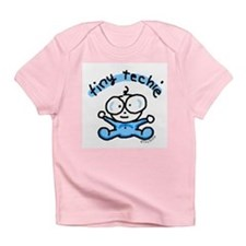 Tiny Techie Geek Baby Creeper Infant T-Shirt