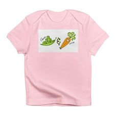 Peas and Carrot Creeper Infant T-Shirt