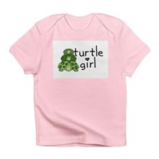 turtle girl Creeper Infant T-Shirt