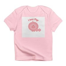 I Love Pigs Infant T-Shirt