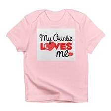 My Auntie Love Me (red) Infant T-Shirt