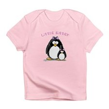 Little Sister penguin Infant T-Shirt