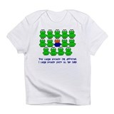 Being Different FROGS 3 Infant T-Shirt