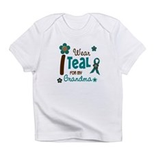 I Wear Teal For My Grandma 12 Infant T-Shirt