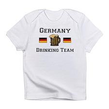 German Drinking Team Creeper Infant T-Shirt