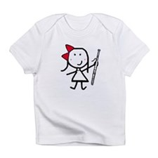 Girl & Bassoon Infant T-Shirt