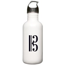 Classic Alto Clef Sports Water Bottle