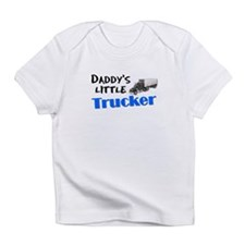 Daddy's Little Trucker Creeper Infant T-Shirt