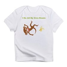 I Do All My Own Stunts Infant T-Shirt