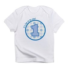 It's fun to be one! (blue) Infant T-Shirt