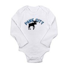 Park City, Utah Long Sleeve Infant Bodysuit