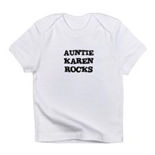AUNTIE KAREN ROCKS Creeper Infant T-Shirt