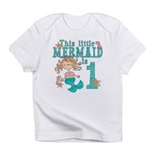 Mermaid First Birthday Infant T-Shirt