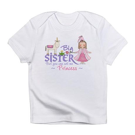 Unicorn Princess Big Sister Infant T-Shirt