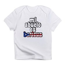 Mi Abuelo Es Boricua Infant T-Shirt