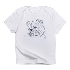 Bulldog Creeper Infant T-Shirt