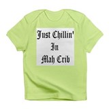 Chillin' In Mah Crib Creeper Infant T-Shirt