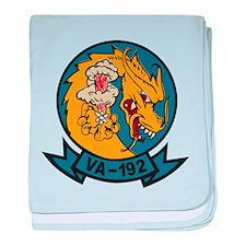 VA-192 Golden Dragon baby blanket