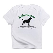 Labs4rescue (3 colors) Infant T-Shirt