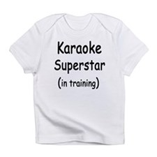 Superstar In Training Creeper Infant T-Shirt