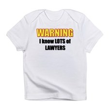 I know lawyers Creeper Infant T-Shirt