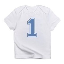 Blue #1 Infant T-Shirt