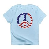 Patriotic Peace Sign Infant T-Shirt