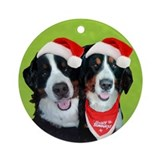 Sylvi and Chadwick Ornament (Round)