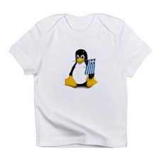 Greek Tux Creeper Infant T-Shirt