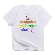 2 Mommies Creeper Infant T-Shirt