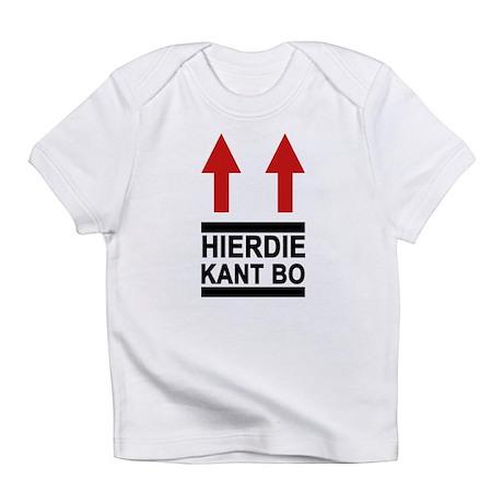 Hierdie Kant Bo Creeper Infant T-Shirt