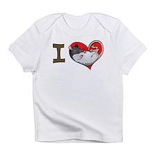 I heart rats (hooded) Infant T-Shirt