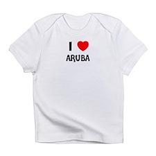 I LOVE ARUBA Creeper Infant T-Shirt