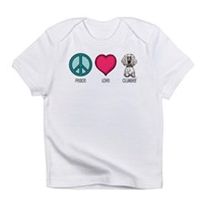 Peace Love & Clumbers Infant T-Shirt