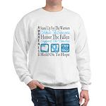 Prostate Cancer Stand Sweatshirt