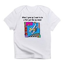Airplane Pilot Uncle Infant T-Shirt