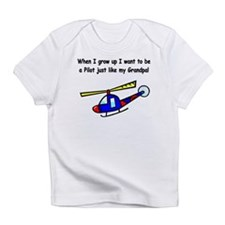 Helicopter Pilot Grandpa Infant T-Shirt