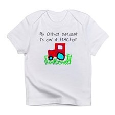 My Other Carseat is on a Tractor Creeper Infant T-