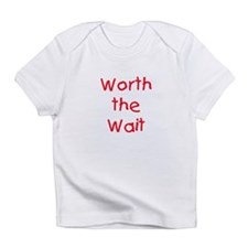 Worth the Wait Creeper Infant T-Shirt