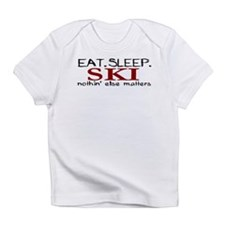 Eat Sleep Ski Infant T-Shirt