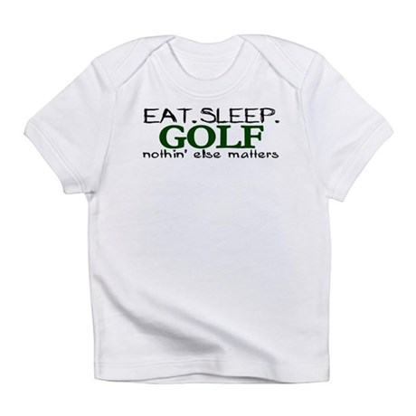Eat Sleep Golf Infant T-Shirt