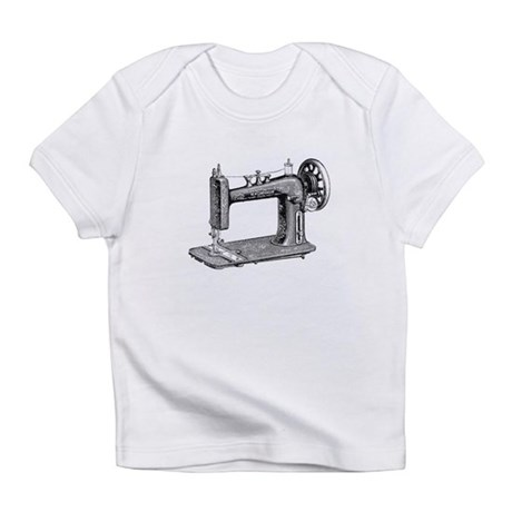 Vintage Sewing Machine Infant T-Shirt