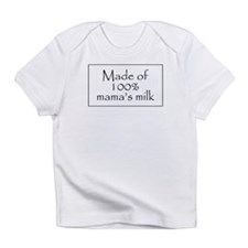 100% mama's milk Creeper Infant T-Shirt