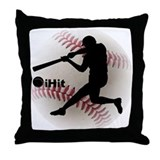 ihit Baseball Throw Pillow