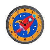 Future Astronaut Wall Clock