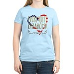 Watch The Game Organic Women's Fitted T-Shirt (dar