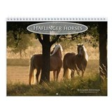 Haflinger horse Wall Calendar