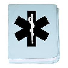 EMS Star of Life baby blanket