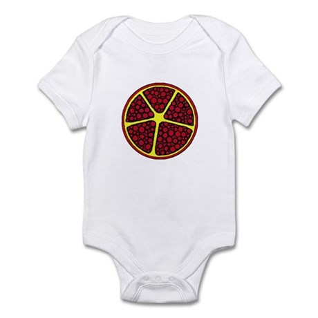 abstract pomegranate Infant Bodysuit
